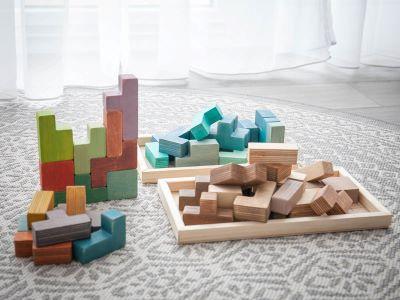 fa építő játék
